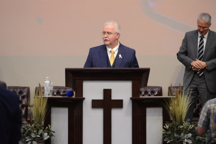 ron spencer ministering