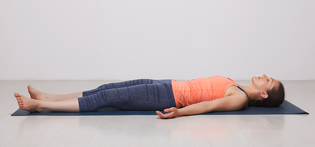 Corpse Pose - Savasana on the Best Yoga Mats - Even More About Yoga