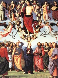 Perugino, The Ascension of Christ (1496)