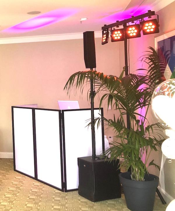 Kleines Technikpaket von DJ Lüneburg auf einer Hochzeitsfeier - Bergström Lüneburg