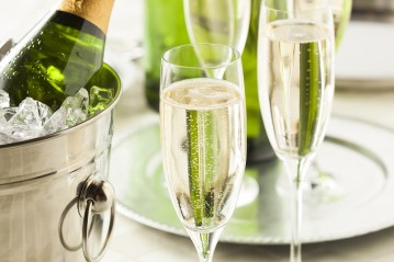 Champagne hospitality for events