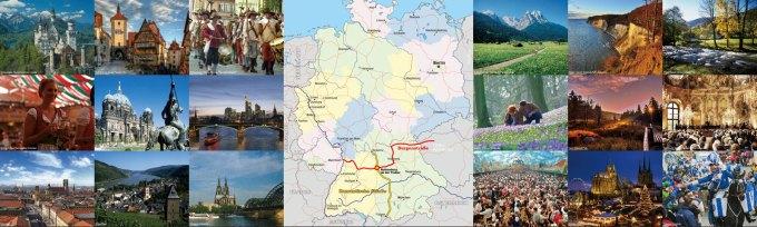 世界を旅しよう!! ドイツ観光キャンペーンin羽田のポスター
