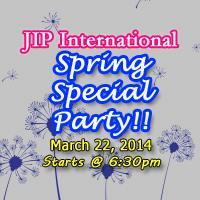 JIPインターナショナルパーティー(スプリングフェスティバル)