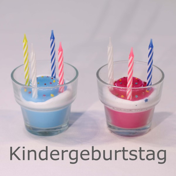 Kindergeburtstag Torten Kerzen