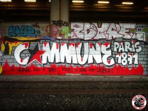 graf commune de paris - action antifasciste paris banlieue