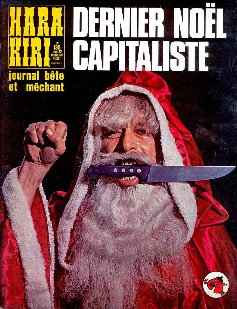 le père noel couteau entre les dents, hara kiri 135 decembre 1972