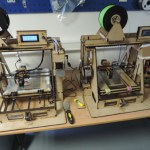 imprimantes 3D développées par JF pour planète science et diffusion auprès des structures accueillant des jeunes.