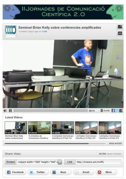 Brian Kelly presenting at #udgamp10