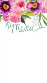 diseña tu menú