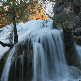 Turner Falls in daylight