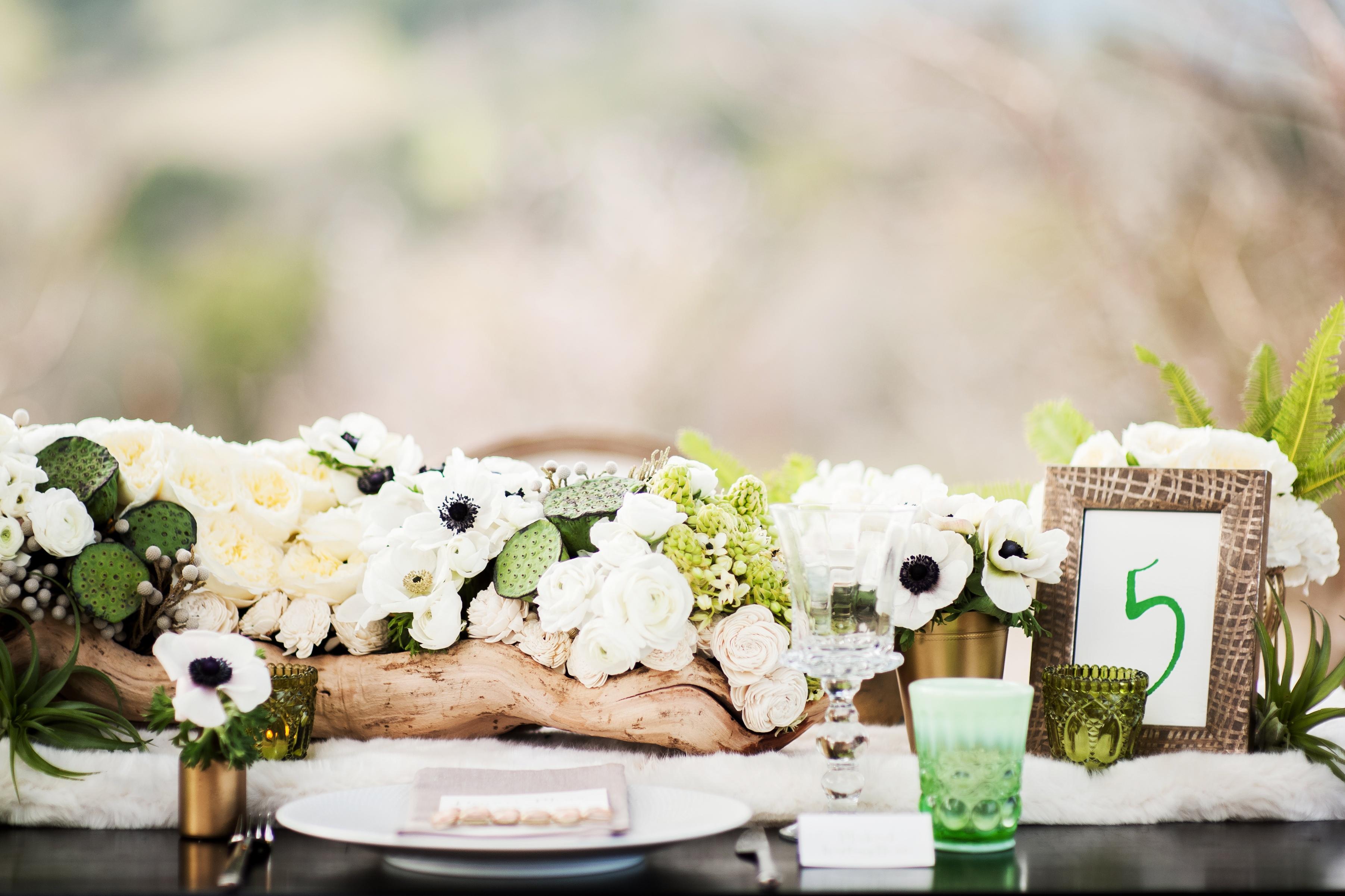 Green Wedding Color Combination Ideas