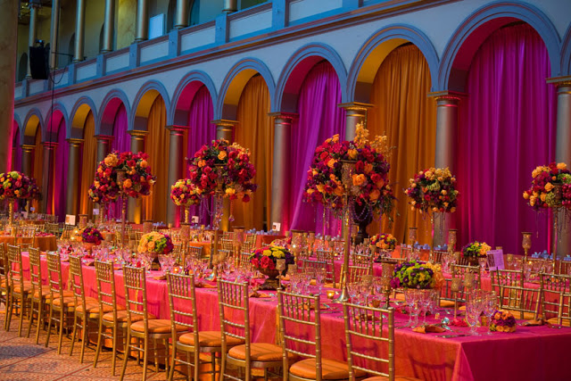Orange Wedding Color Combination Ideas