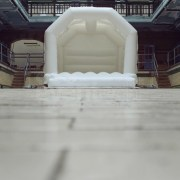 White Wedding Bouncy Castle from Eventech UK