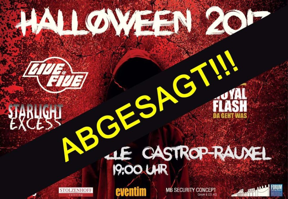 ABSAGE Halloween