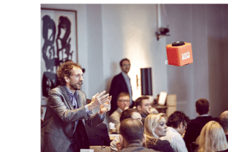 Engaging attendees with the Catchbox