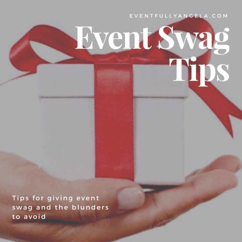 event swag tips