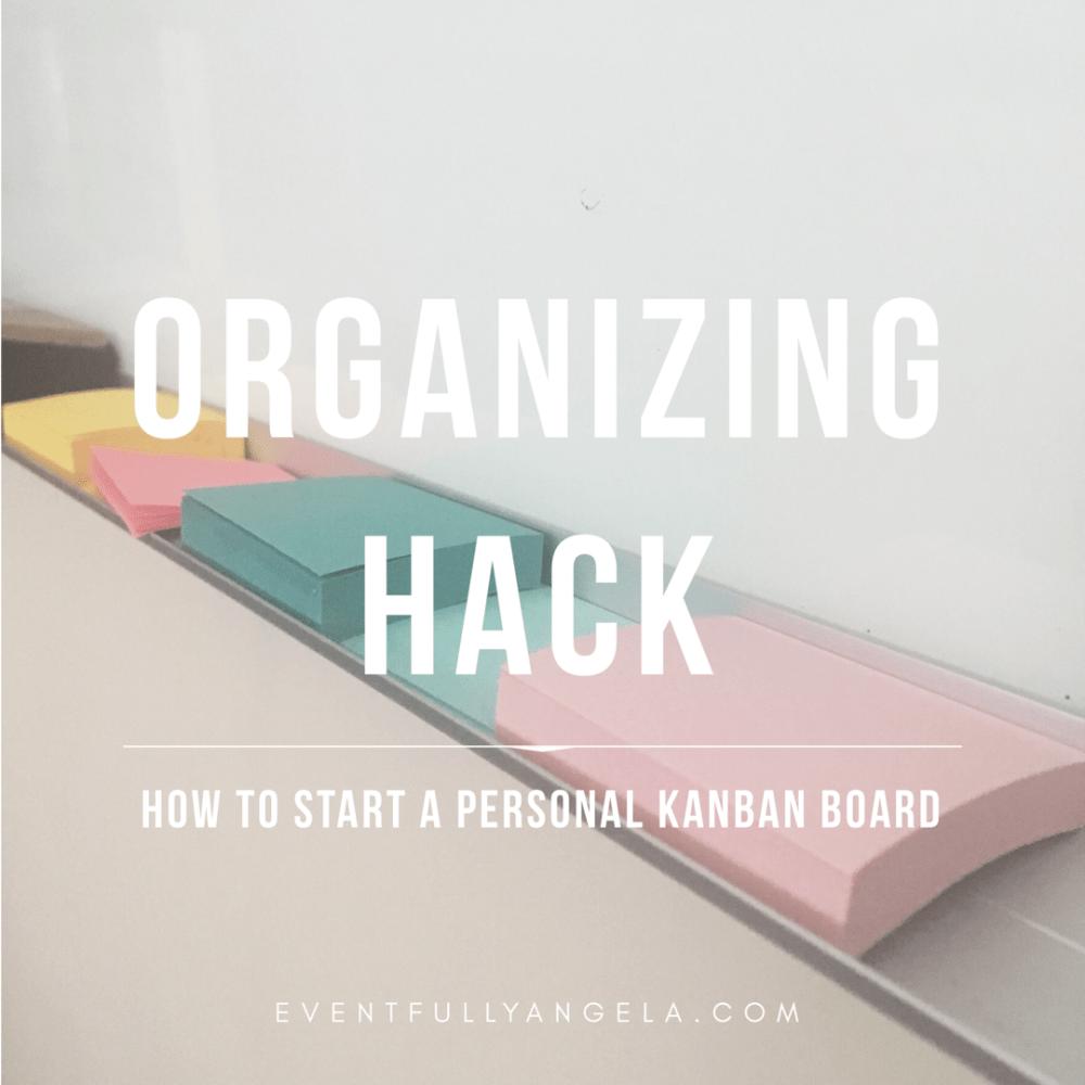 work life balance organzing hack