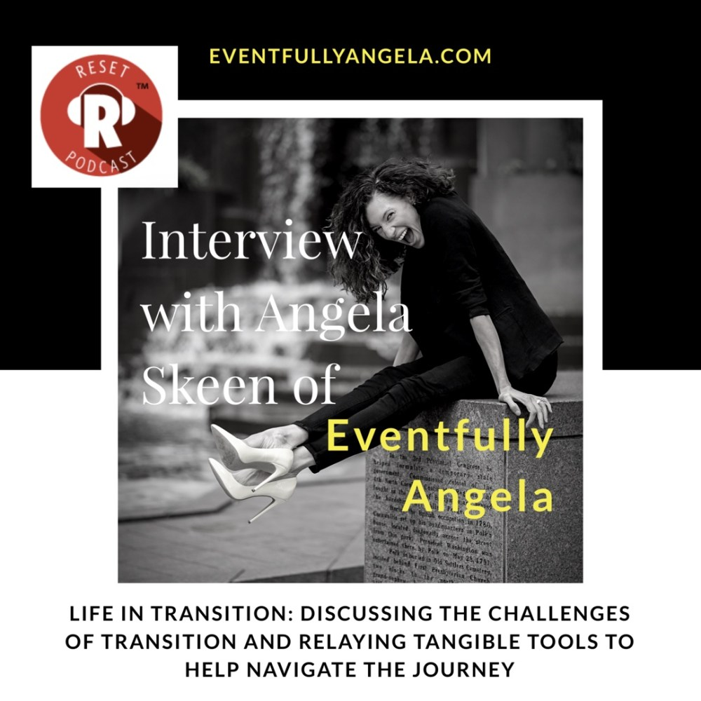 Angela Skeen podcast interview with RESET