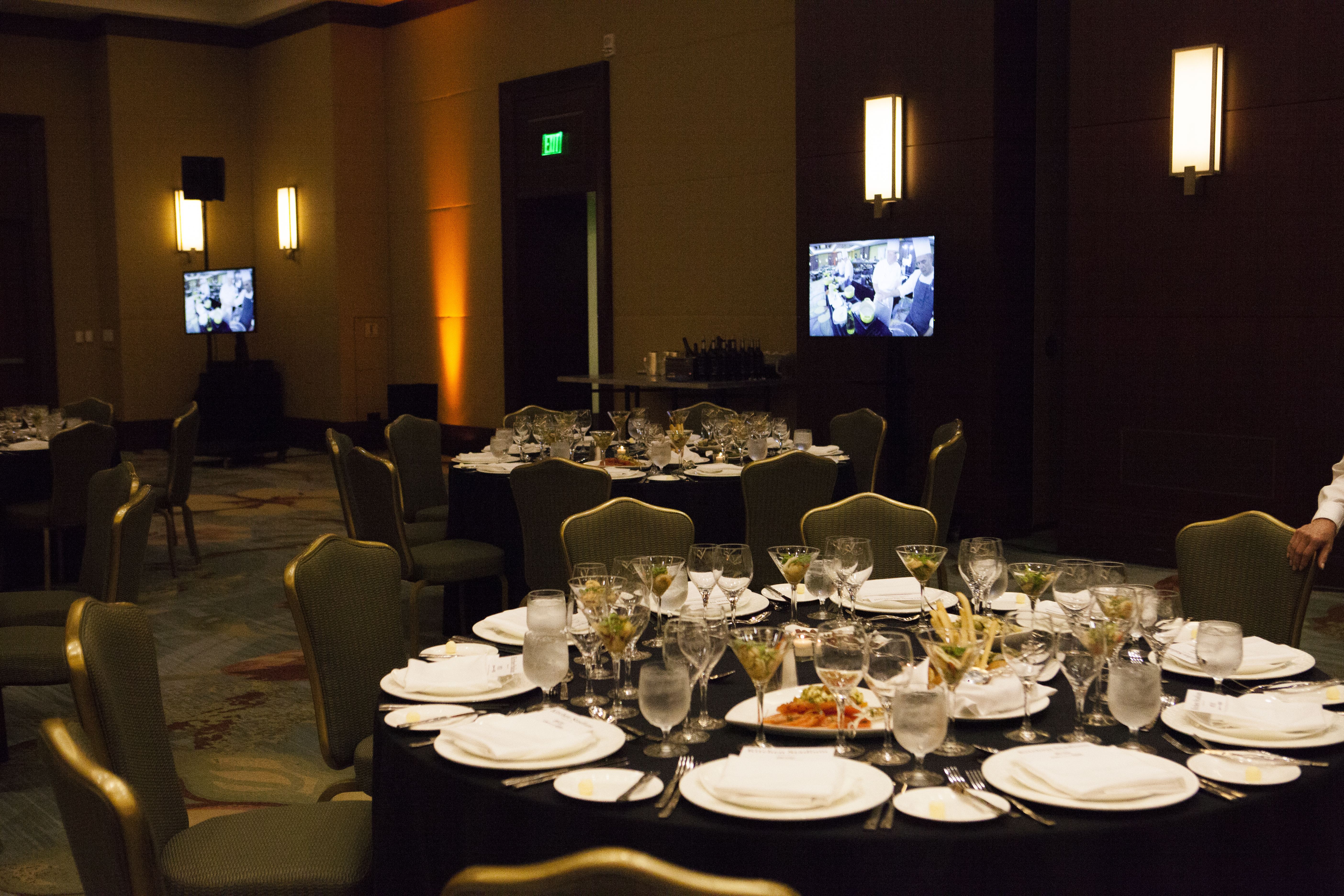 Ritz Carlton Live Kitchen Audio Visual