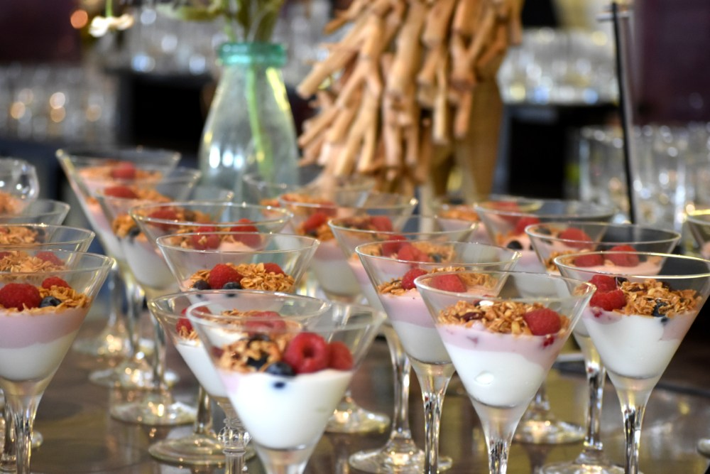 Conference break food
