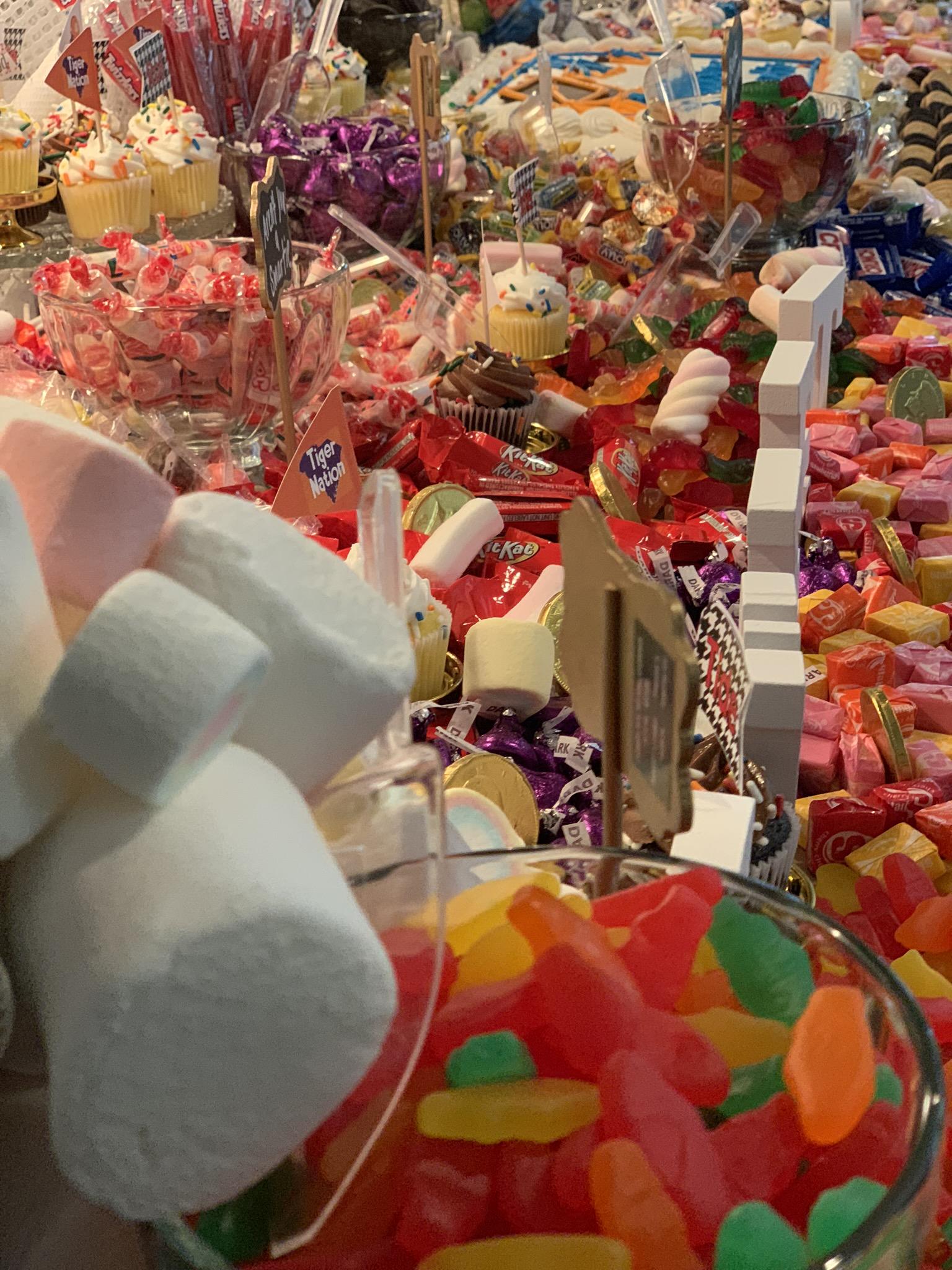 candy grazing Buffett