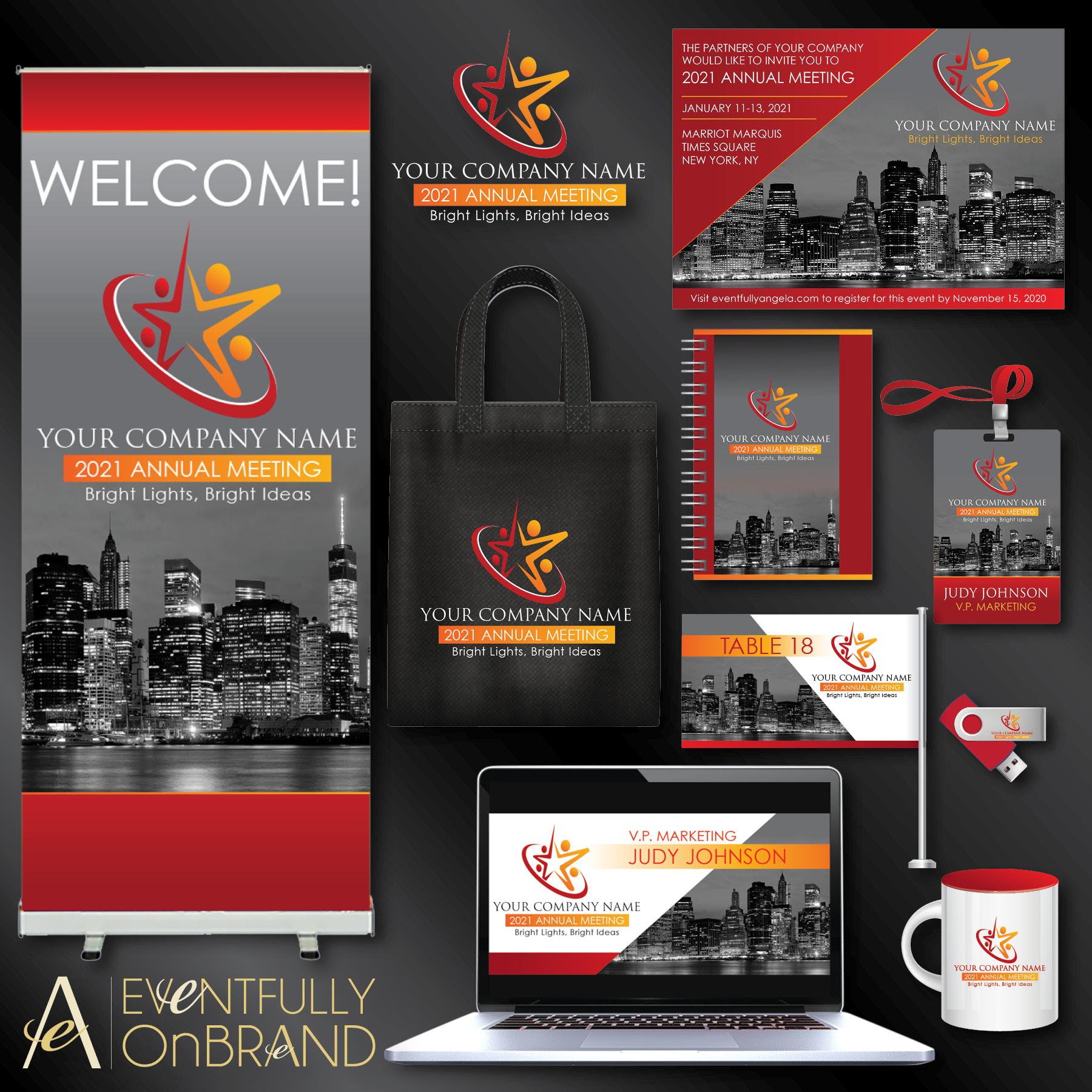 Event branding Package Sample
