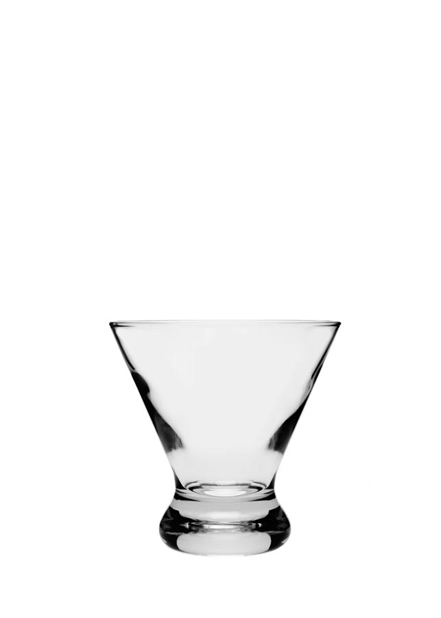 Stemless Martini Glass  Cosmopolitan  EventHaus Rentals