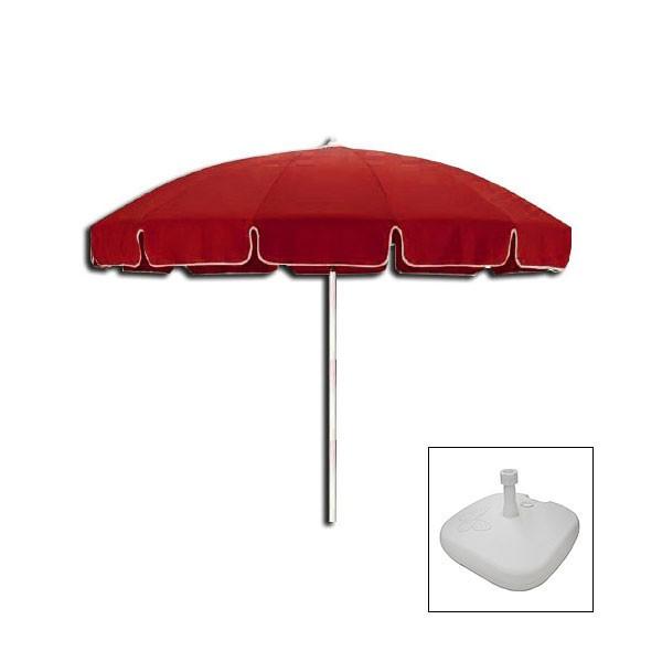 Red Patio Umbrella  Event Hire UK