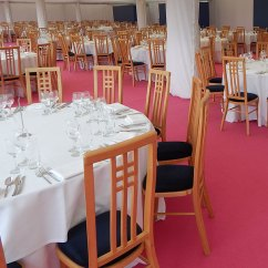 Wedding Chair Cover Hire Bedford Farmhouse Table And 4 Set Event Uk Furniture