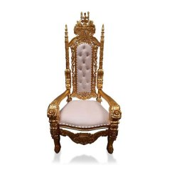 How To Make A Queen Throne Chair Adirondack Chairs Blueprints Hire Event Uk Gold Rose