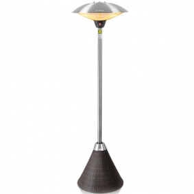 Halogen Bulb Electric Infrared Patio Heater