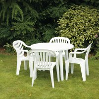 White Patio Chair