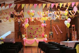 Pink_Yellow_White_theme_birthday_party_decoration_04