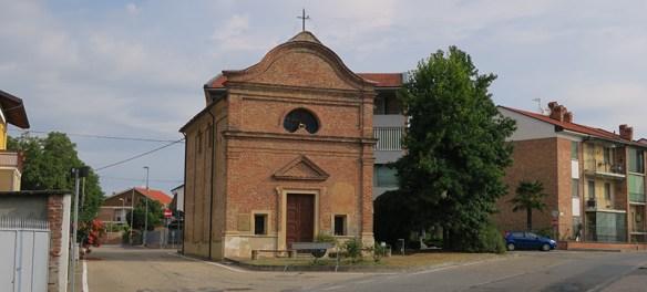 Santena chiesa Borgo Taggia