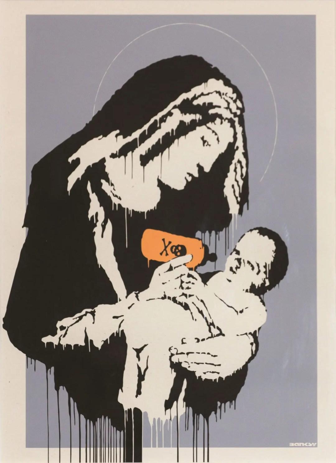 Virgin Mary Toxic Mary