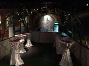 Bar für Feiern mit Sektempfang