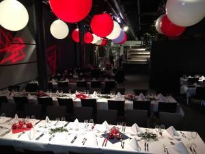 Weihnachtsfeier Tisch Deko