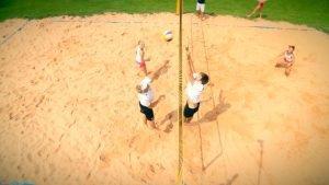 Beachvolleyballfeld in der Eventmeile1 in Altensteig mieten und Beachbar genießen