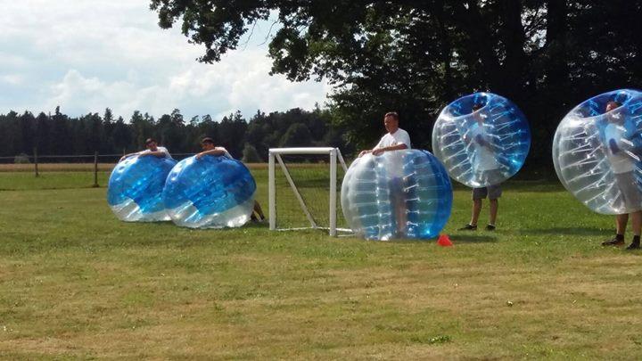 Bubblesoccer spielen in Calw und Herrenberg