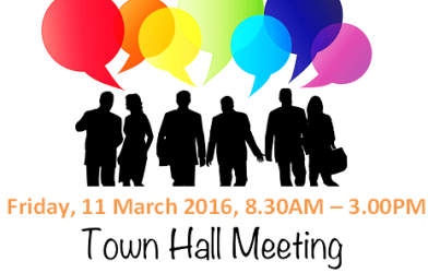 hall town meeting banner event eventnook greetings