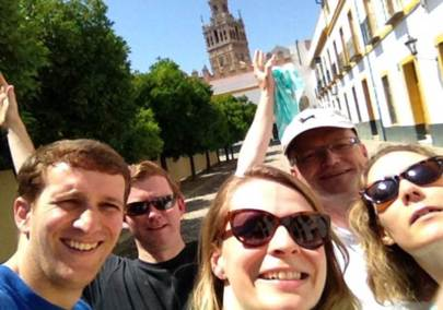 Gymkahna por Sevilla con tablets _16