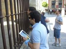 Gymkhana por Sevilla con tablets _7