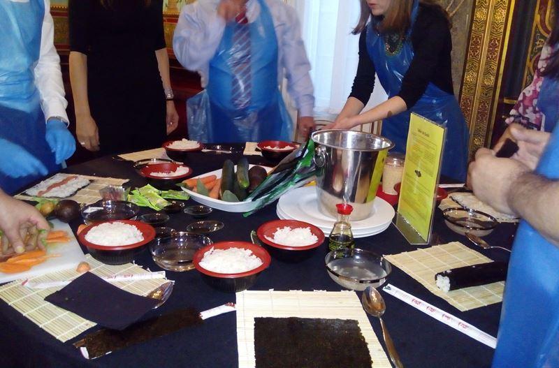 Taller de Sushi en el Palacio de Santoña _15
