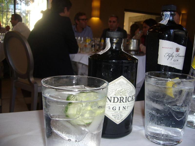 Cata de Gin tonics maridados con chocolates _52_