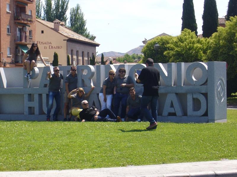 Gymkhana con tablets en Alcalá de Henares _2_