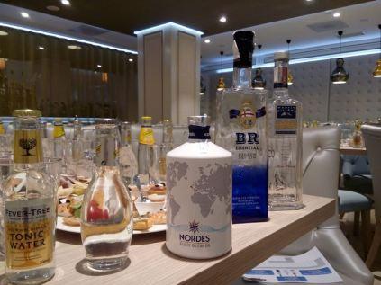 Cata de Gin tonics realizada en Madrid _2_