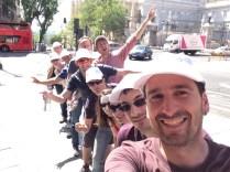 Team building en Madrid _ Gymkhana con tablets _8