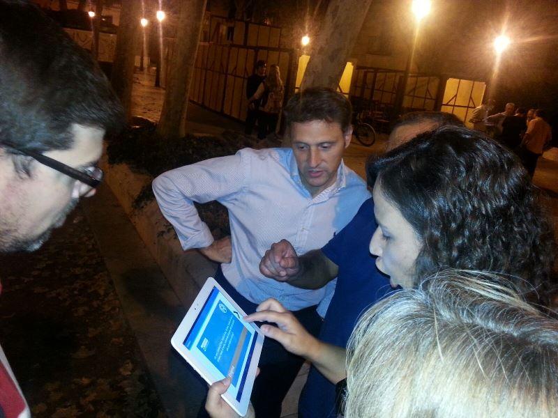 Gymkhana tablet por Alcalá de Henares _14