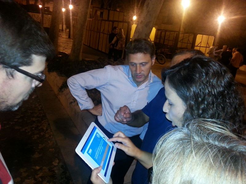 Gymkana tablet por Alcalá de Henares _14