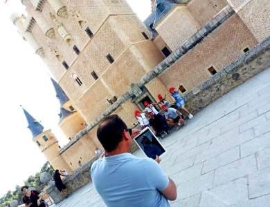 Gincana con tablets en Segovia_Eventos de Autor